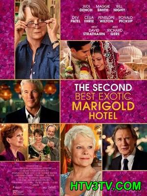 Khách Sạn Diệu Kỳ 2 - The Second Best Exotic Marigold Hotel