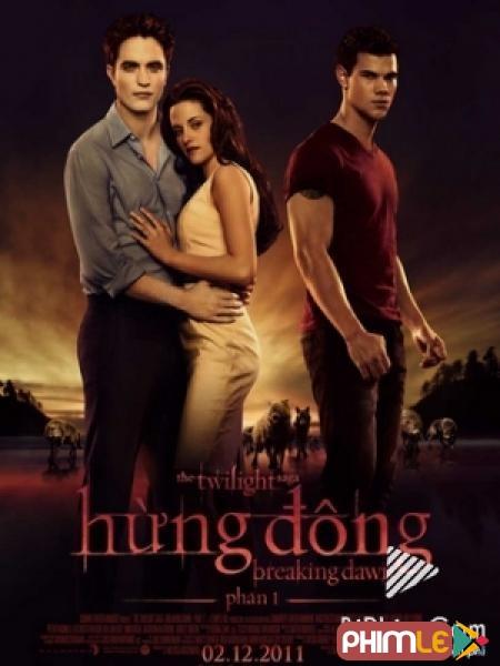Hừng Đông 1 - The Twilight Saga: Breaking Dawn 1