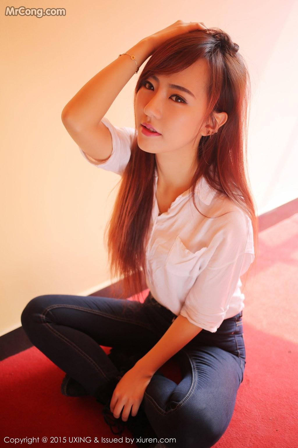 UXING Vol.001: Người mẫu Wanni (赵婉妮) (68 ảnh)