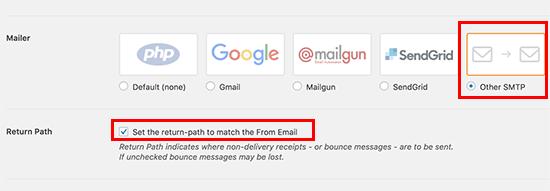 選擇郵件程序