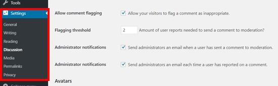 Zeno報告註釋插件設置WordPress
