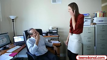 Boss shows employee how to have anal sex but stay a virgin