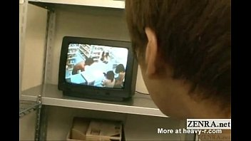 Subtitled Japanese Nudist Shopping