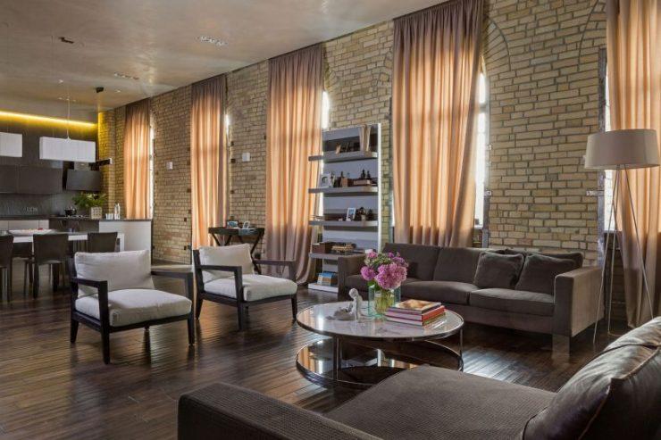 Изображение - Оформление стены кирпичом в интерьере гостиной proxy?url=http%3A%2F%2Fdizajngid.ru%2Fwp-content%2Fuploads%2F2017%2F02%2FKirpichnaya-gostinaya-45