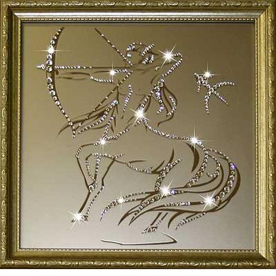Знак зодиака сваровски лев