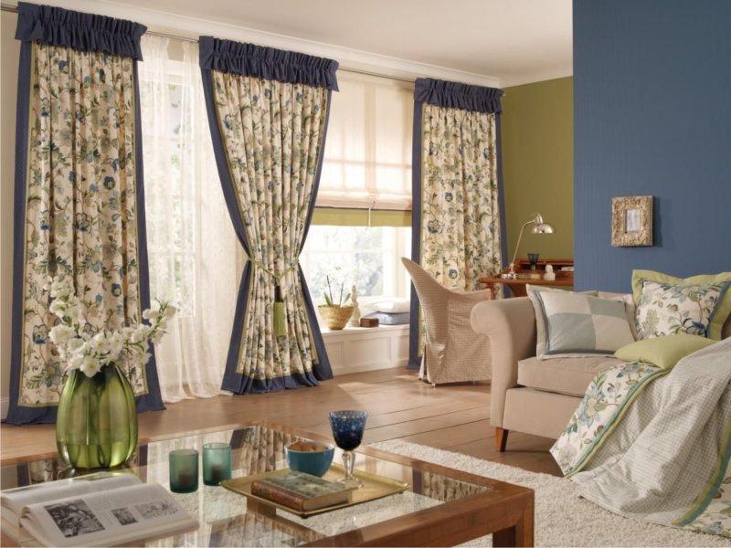 Изображение - Как оформить шторы для гостиной в стиле прованс – гармония вкуса и простоты proxy?url=http%3A%2F%2Fmystroyinfo.ru%2Fwp-content%2Fuploads%2F2017%2F01%2FGostinaya-v-stile-provans-5