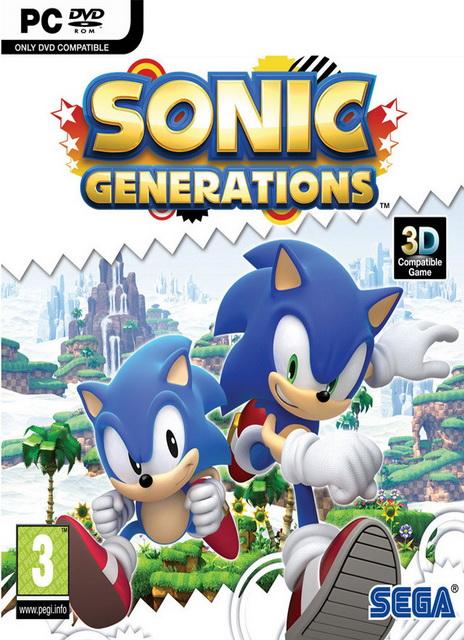 Sonic Generations PC скачать