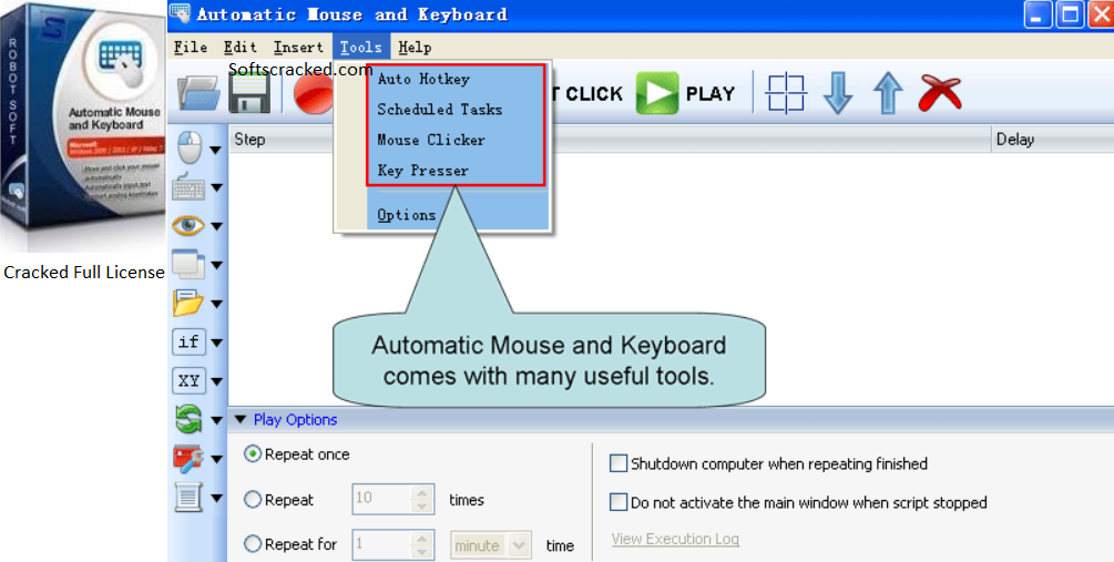 Automatic Mouse And Keyboard кряк