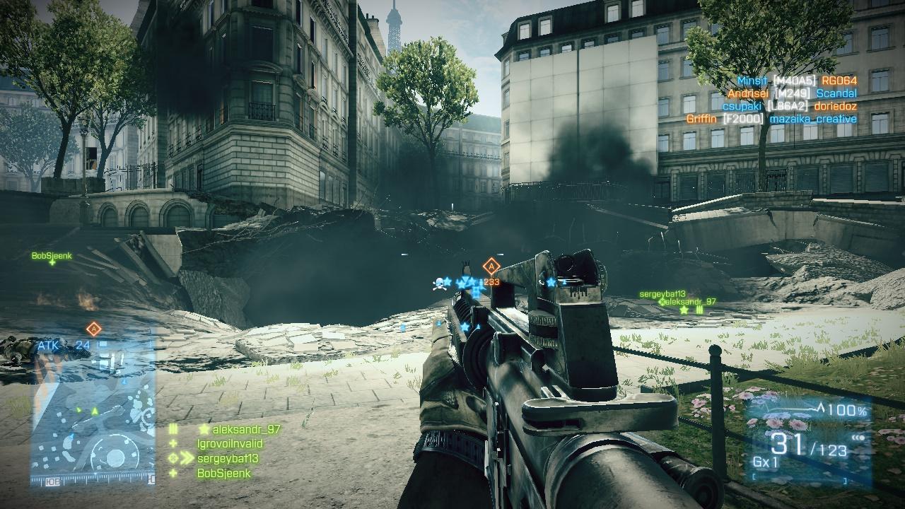 Battlefield 3 Multiplayer на Пиратке скачать торрент