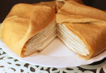 Рецепт блинов для блинного торта
