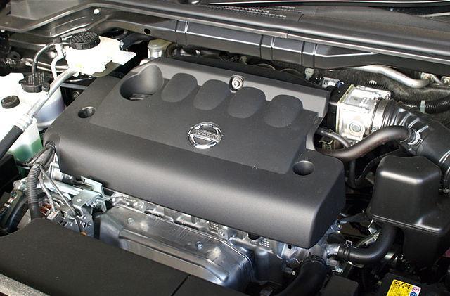 Изображение - Ремонт двигателя qr25de своими руками proxy?url=http%3A%2F%2Fwikimotors.ru%2Fwp-content%2Fuploads%2F2014%2F03%2F640px-Nissan_QR25DE_Engine