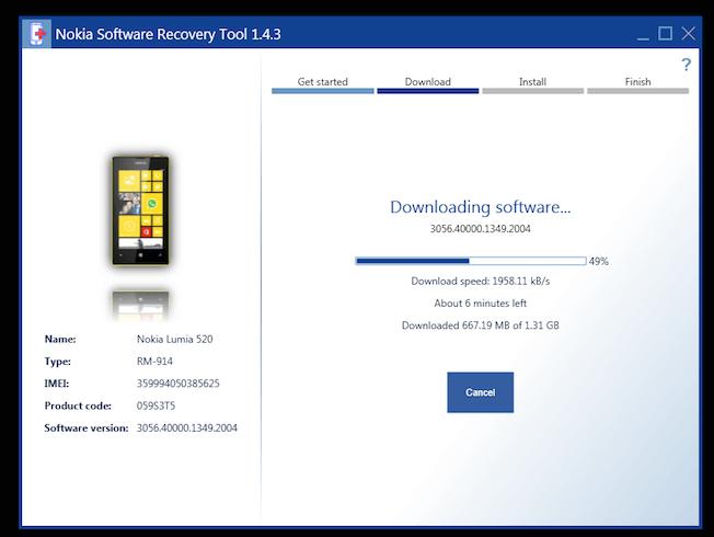 Прошивка для Nokia Lumia 520