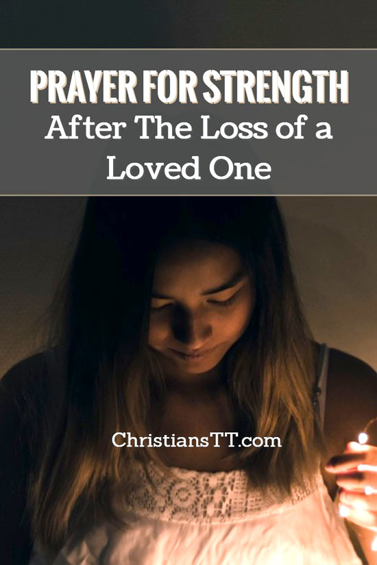 prayer for loss of a loved one