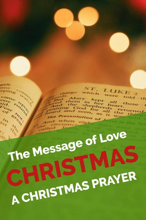 christmas prayers for lost loved ones
