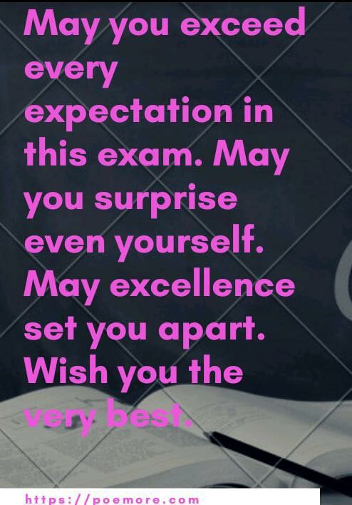prayers for success in exams