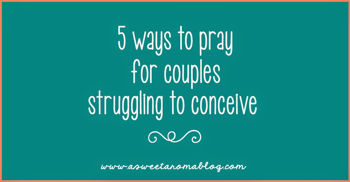 prayer for couples trying to conceive