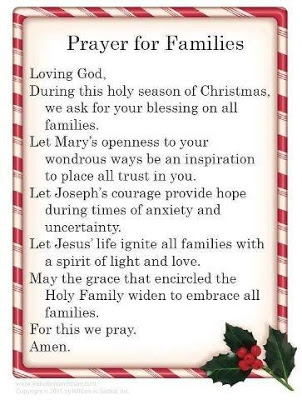 prayer for family and friends day