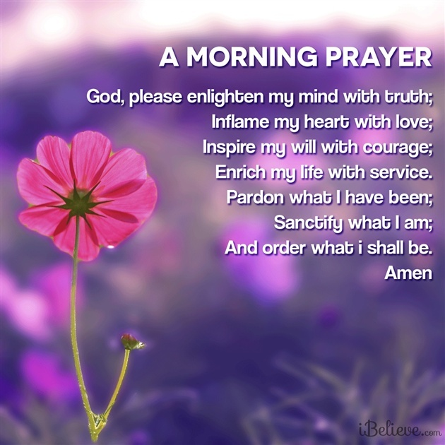 prayers morning