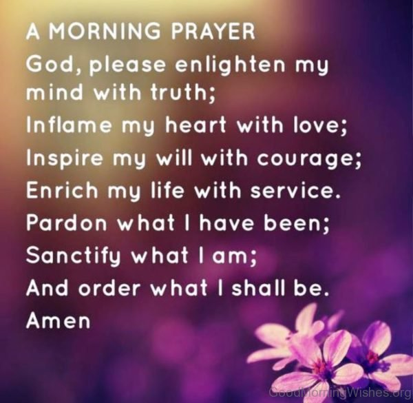 a good morning prayer