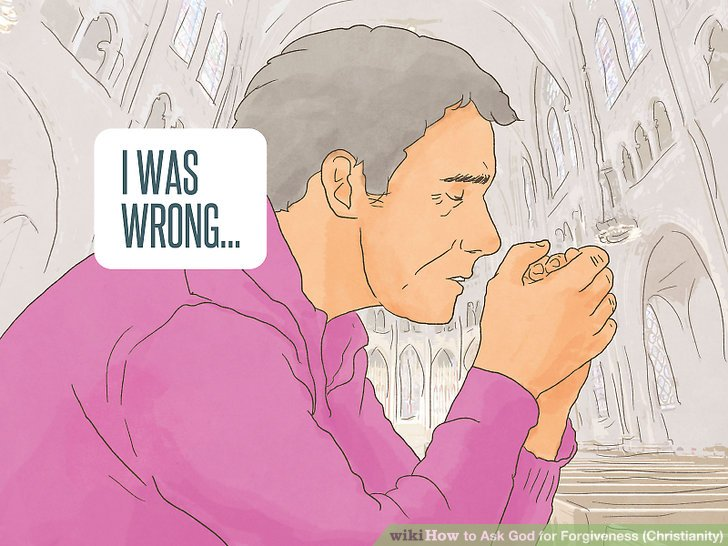 how to ask jesus christ for forgiveness