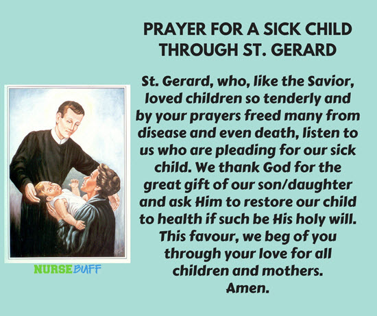 prayers for sick mothers