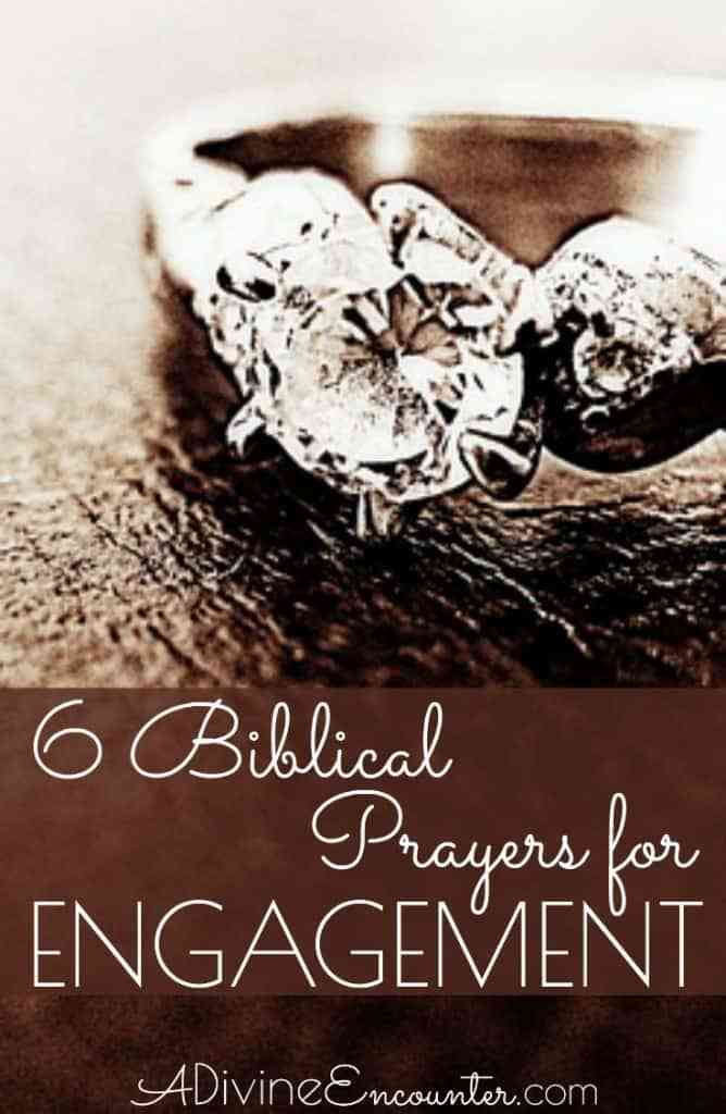 prayer for newly engaged couple