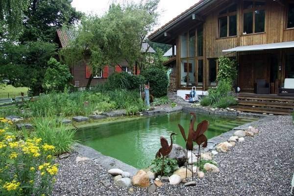 Изображение - Как построить бассейн на даче красивые варианты в ландшафтном дизайне proxy?url=https%3A%2F%2Fdekorin.me%2Fwp-content%2Fuploads%2F2016%2F07%2Fprud-basseyn-vosle-doma