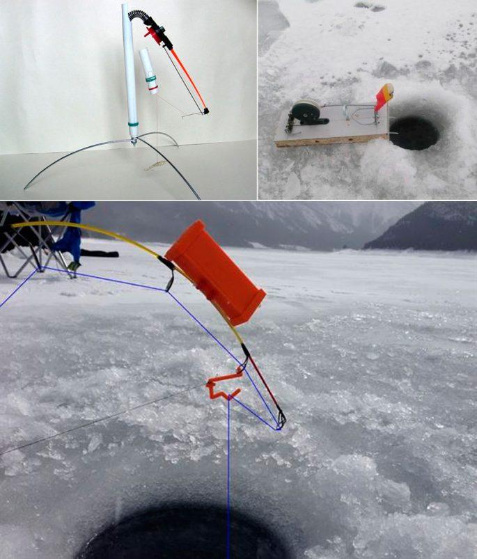 Делаем сами самоподсекающую удочку для зимней рыбалки