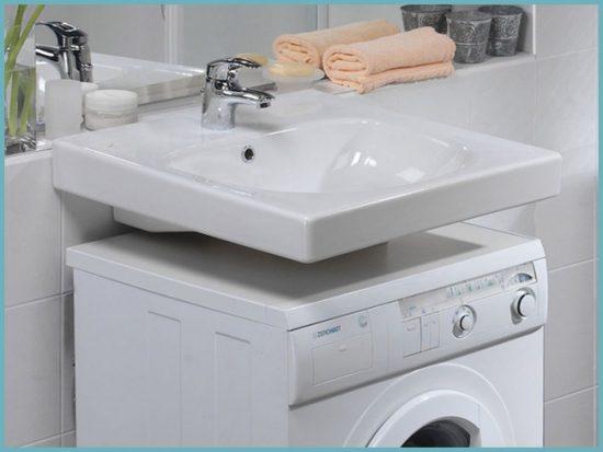 Изображение - Как установить раковину над стиральной машиной решаем проблему тесной ванной комнаты proxy?url=https%3A%2F%2Fsandizain.ru%2Fwp-content%2Fuploads%2F2015%2F11%2Frakovina-nad-stiralnoj-mashinoj-foto-5-550x413