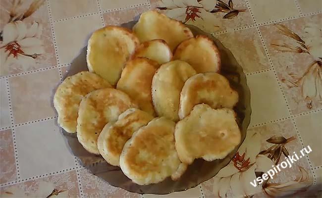 рецепт оладьев из бананов и яиц