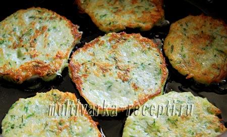 драники из картофеля с кабачком рецепт