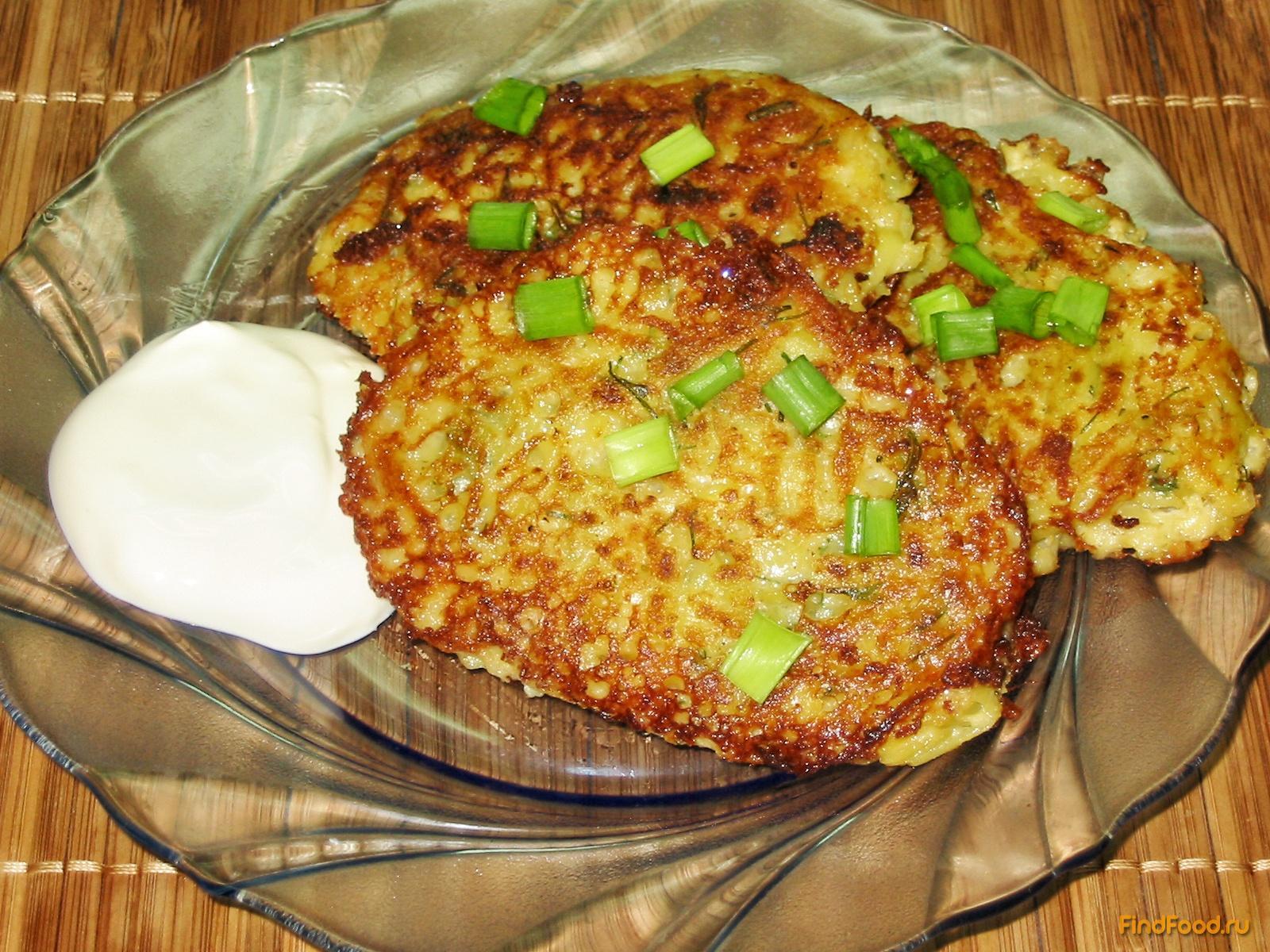 драники с чесноком картофельные рецепт