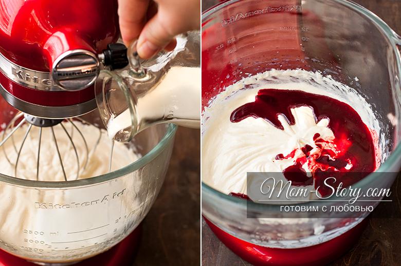 капкейки с начинкой красный бархат рецепт