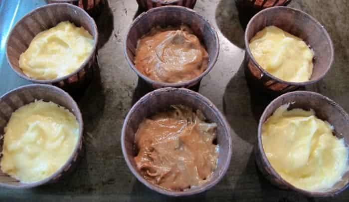 классический рецепт капкейков с начинкой