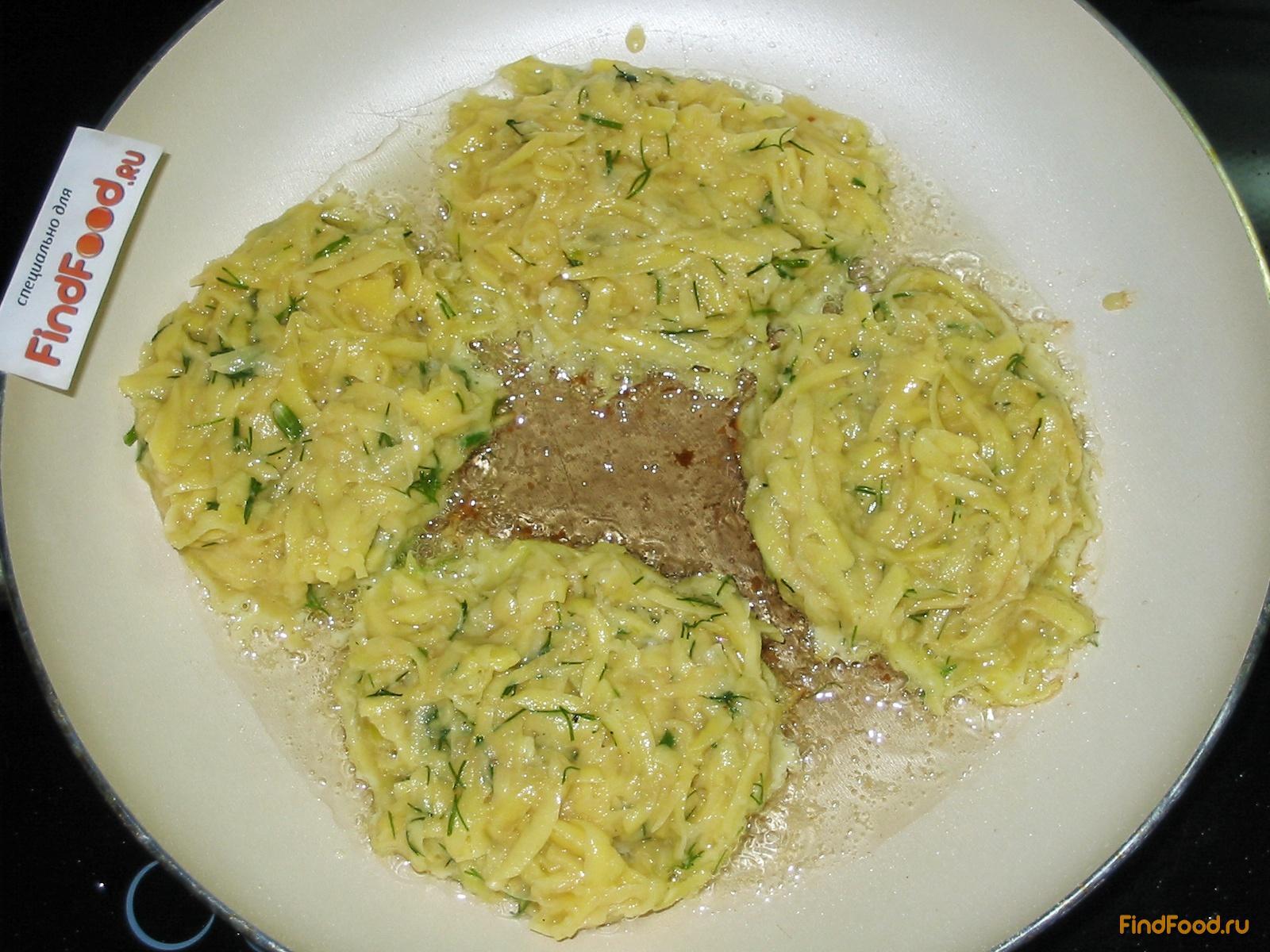 рецепт драников с луком и чесноком