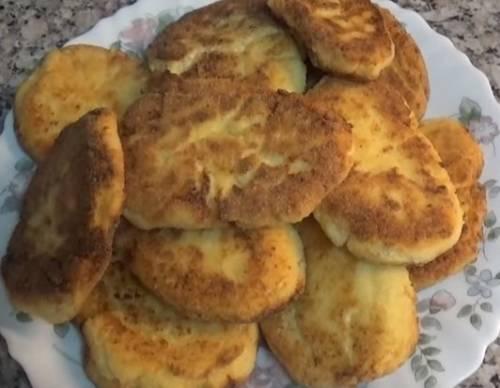 рецепт сырников на муке
