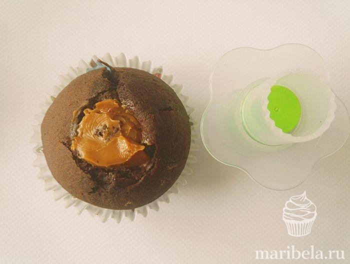 шоколадные капкейки рецепт простой