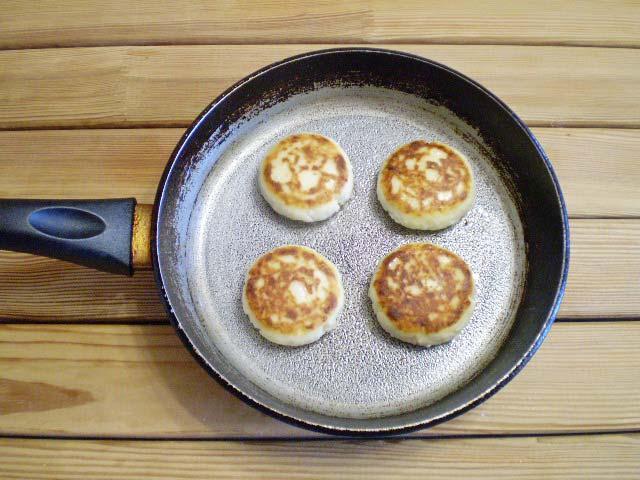 рецепт сырников жареных из творога