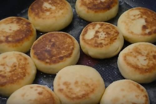 рецепт вареных сырников из творога