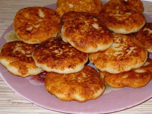 пошаговый рецепт сырников с картинками