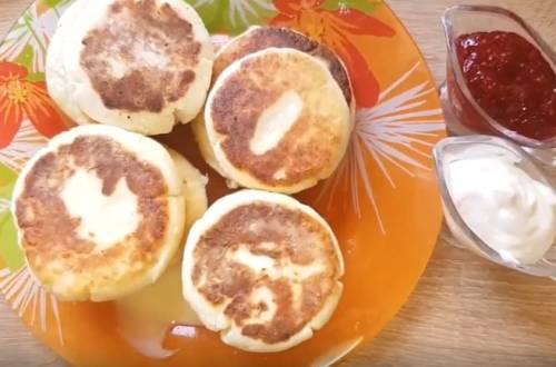 стандартный рецепт сырников из творога